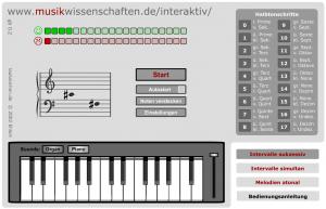 Gehörbildung (Screenshot)