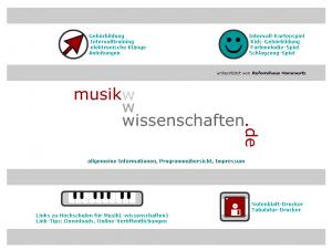 musikwissenschaften.de 2004