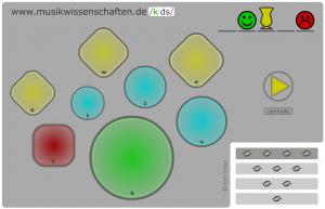 Schlagzeug-Spiel (Screenshot)