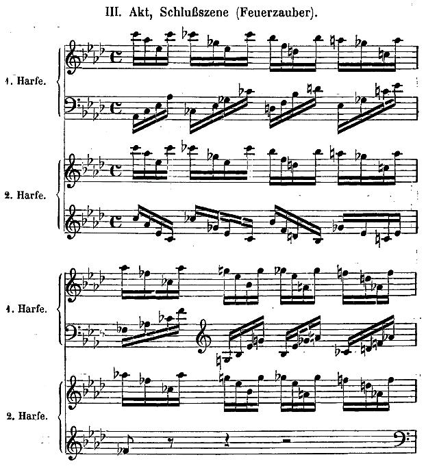 harfe noten