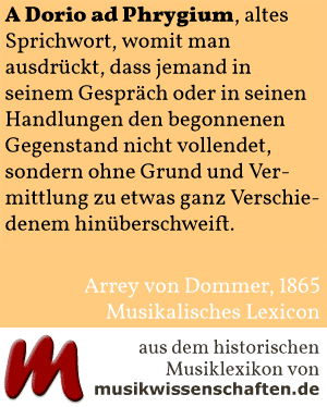 A Dorio ad Phrygium (Dommer 1865)